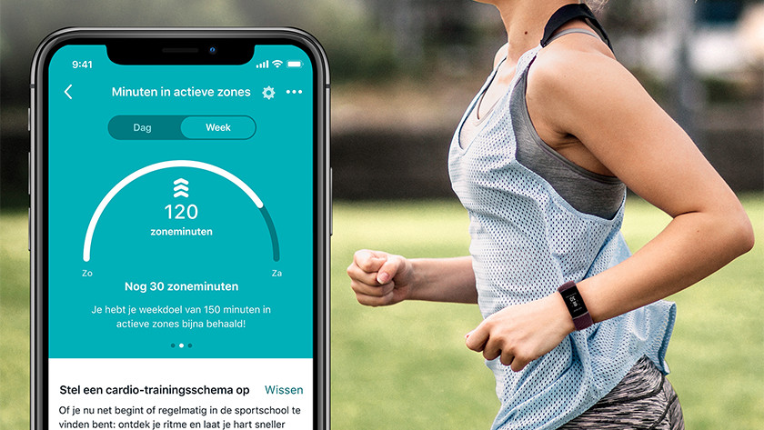 Charge 4 Acitve Zones in app