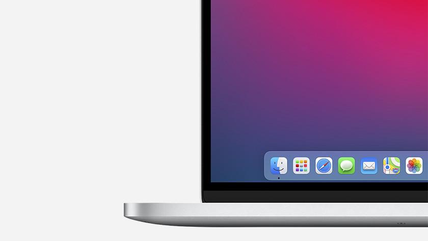 Apple macOS Big Sur look