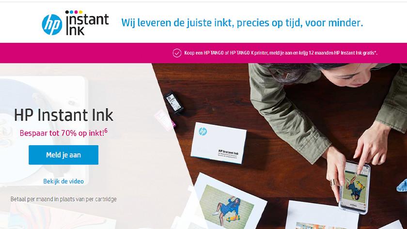 Instant ink website