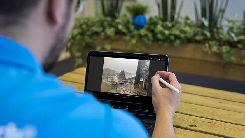 Photo editing on the Apple iPad Air (2020)