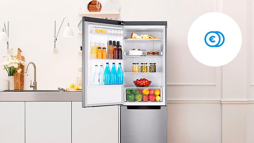 Savings A+ fridge freezer combination