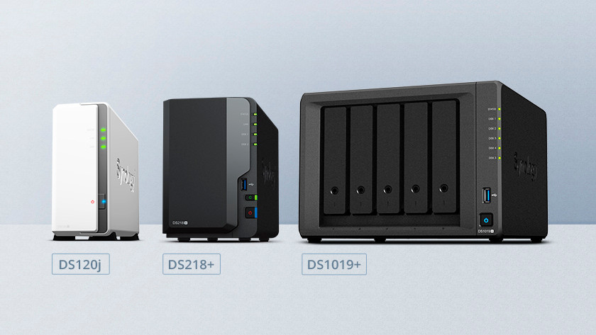 Multiple synology NAS next to each other