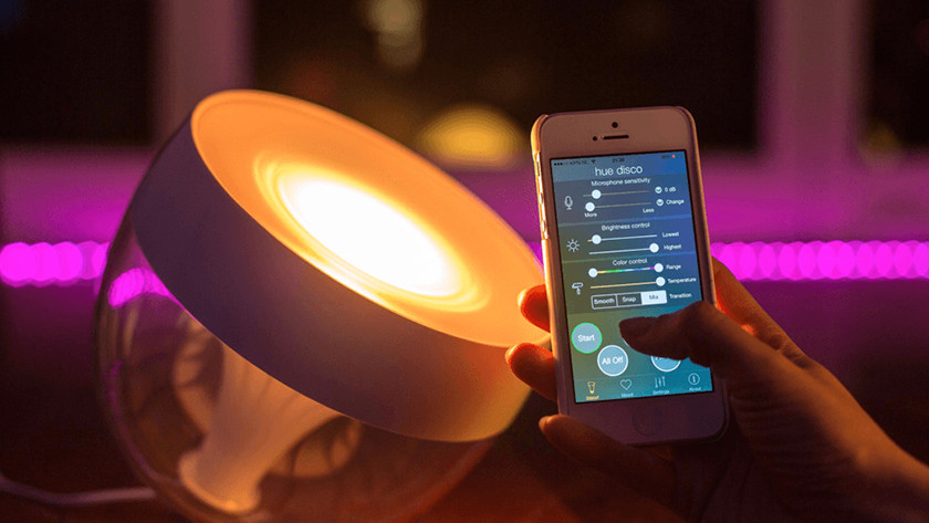 Type of light smart lamp