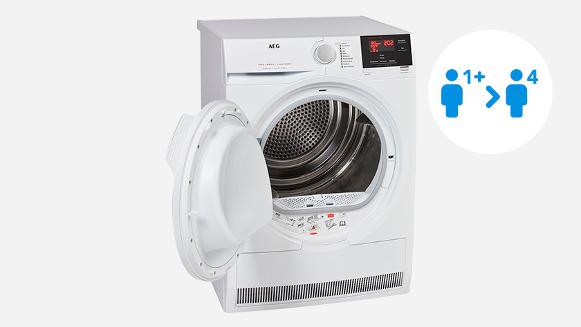 Load capacity AEG 7000 dryer