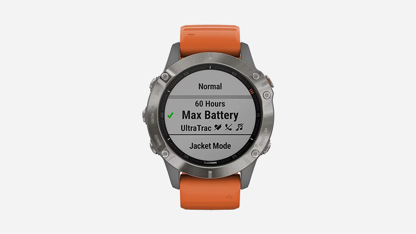 Battery saver function Fenix 6