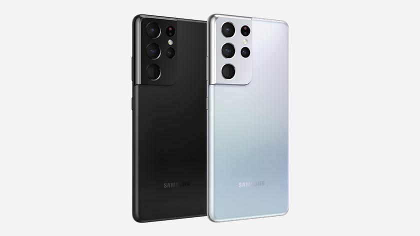 Samsung S21 Ultra smartphones