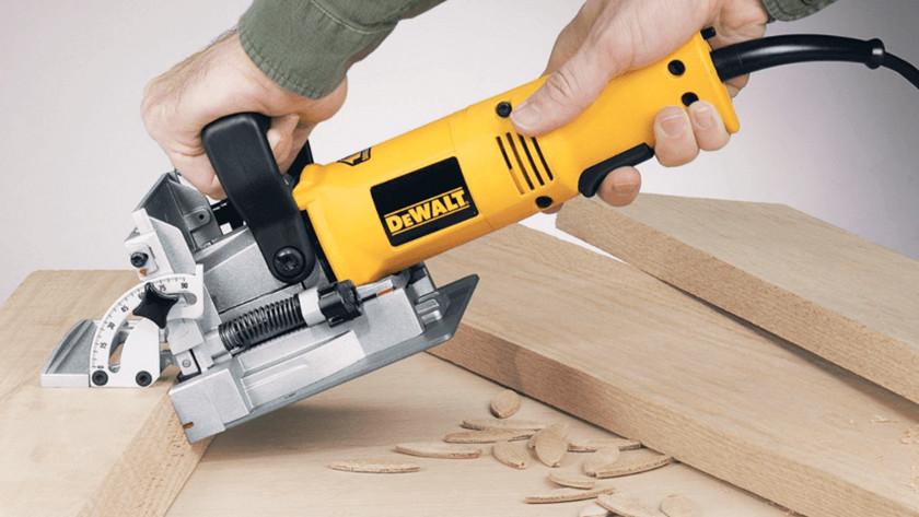 Blinde houtverbindingen maken met een freesmachine