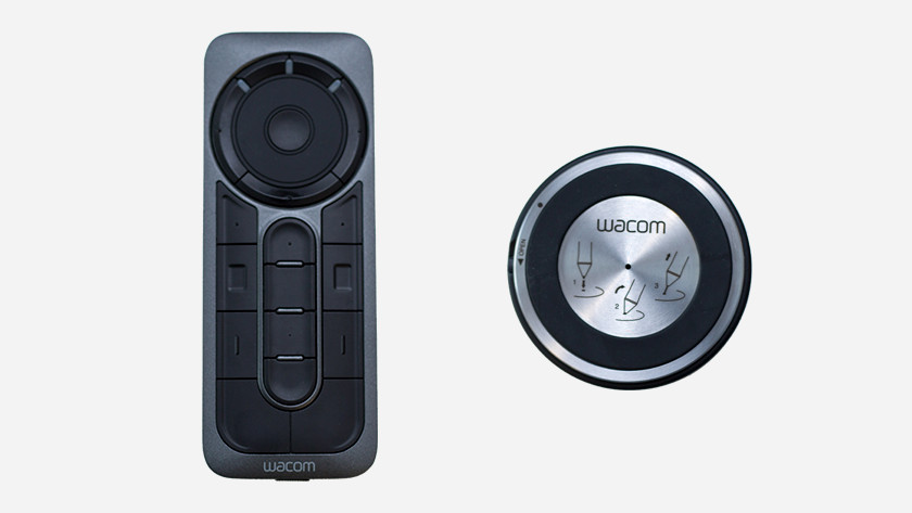 Express Key remote control buttons ease of use