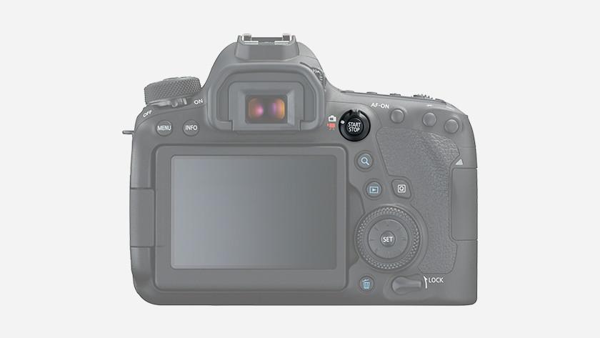 Videokwaliteit Canon 6D Mark ll
