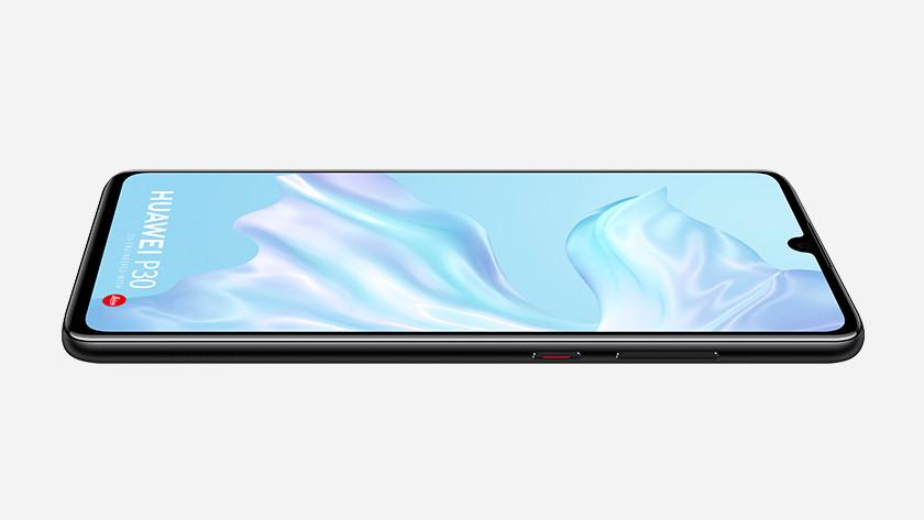Huawei p30 zijkant