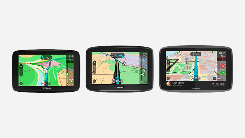 TomTom car navigations