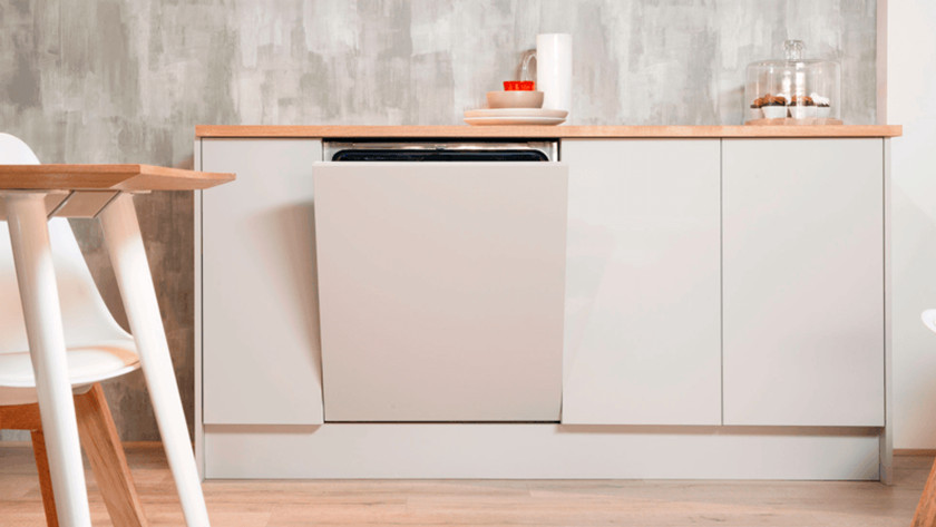 Fully-integrated dishwasher