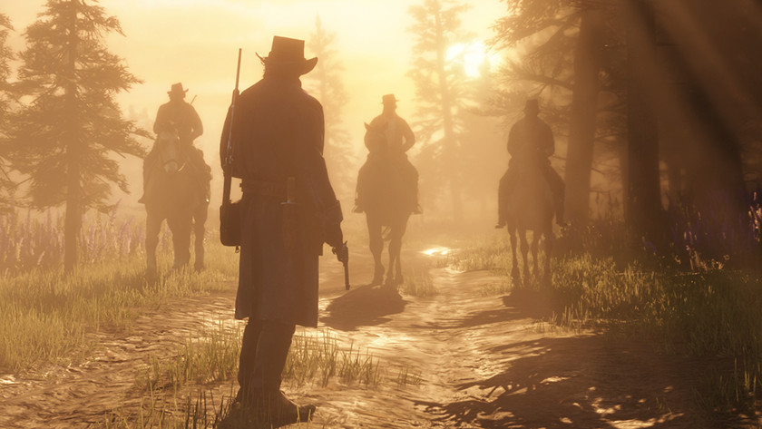 Red Dead Redemption 2 op de PS4 Pro