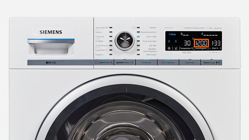 Wasmachine 1200 toeren