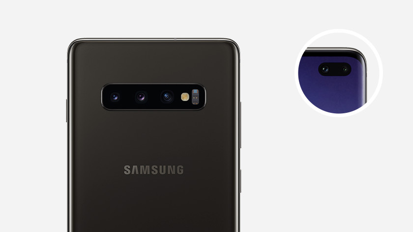 Samsung Galaxy S10 front camera and selfie camera