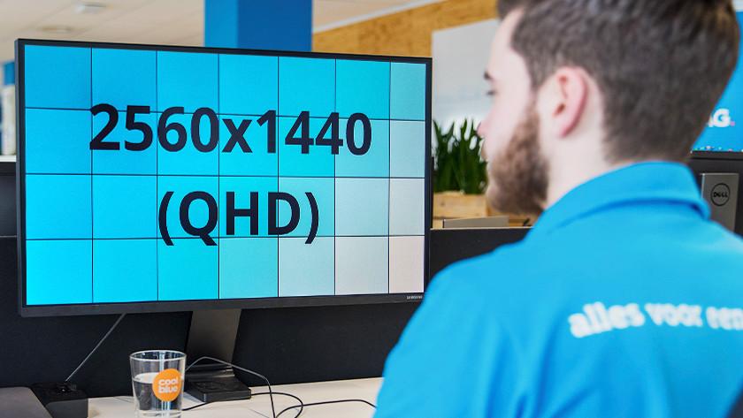 QHD monitor 1440p