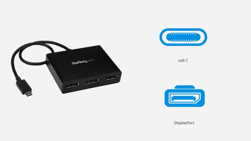 Usb C naar DisplayPort converter