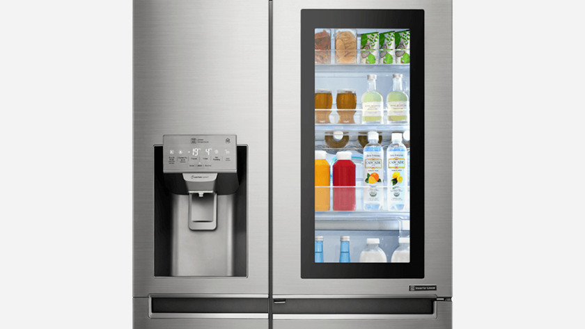 Smart fridge (instaview)