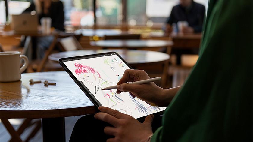 iPad tekenen met Apple Pencil