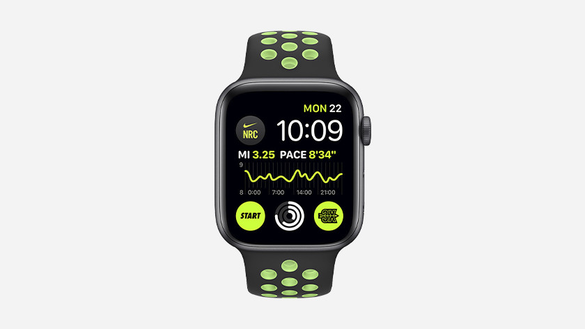 Do you always want insight into your running data? You can now also use the Nike Run Club app on your watch face.