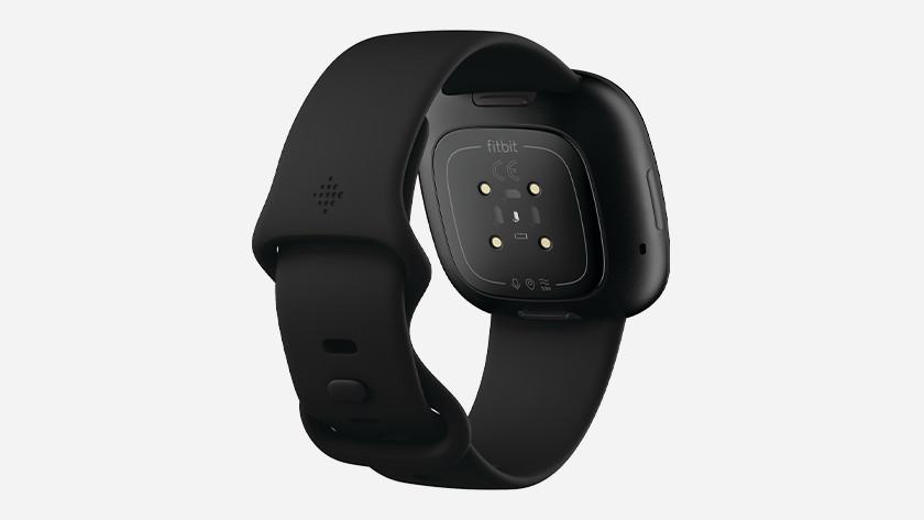 Fitbit Versa 3 optical heart rate measurement