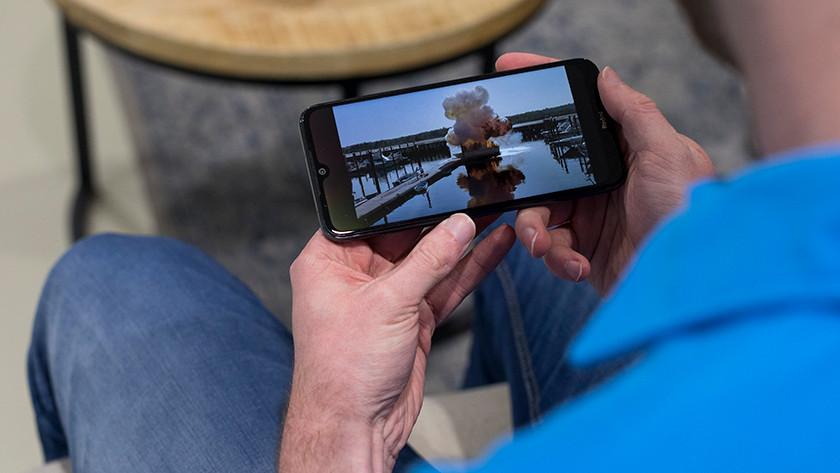 Xiaomi Redmi Note 8T scherm filmpjes kijken