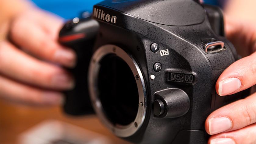 Lensvatting Nikon spiegelreflexcamera's
