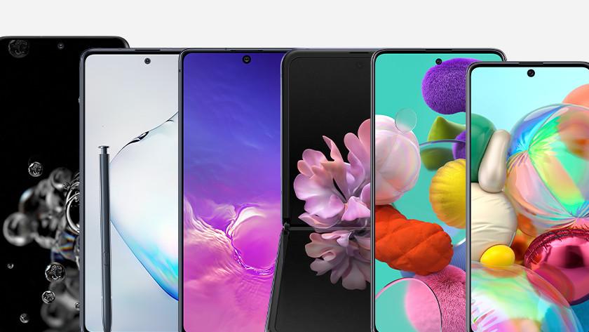 Samsung smartphones 2020