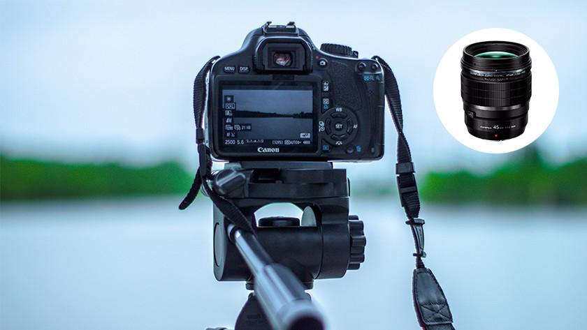 Lens zonder beeldstabilisatie
