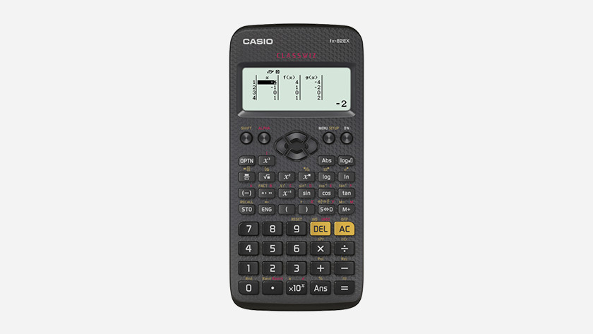 wetenschappelijke rekenmachine