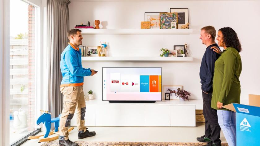 Tv installeren