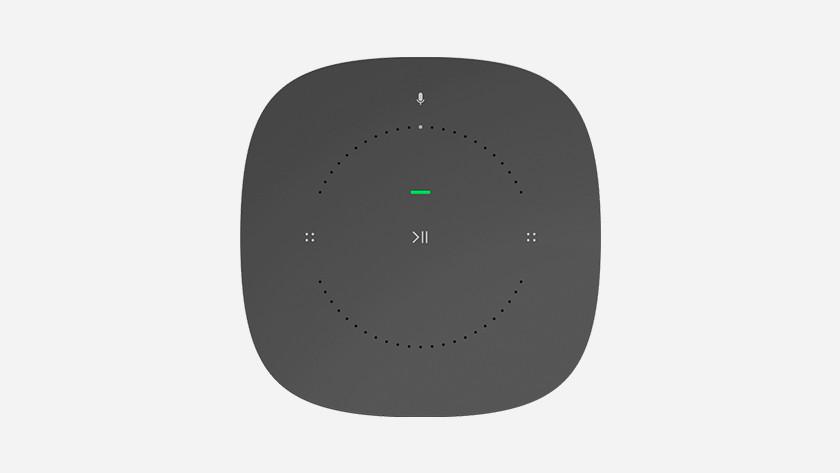 Sonos One groen lichtje