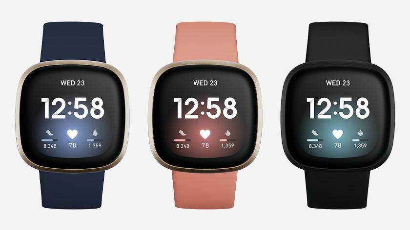 Fitbit Versa 3 colors
