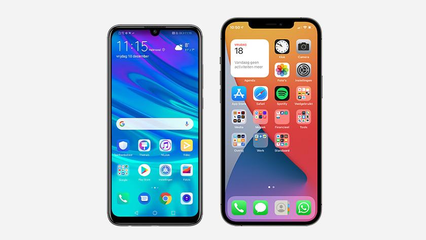 Verschillen Android en iOS