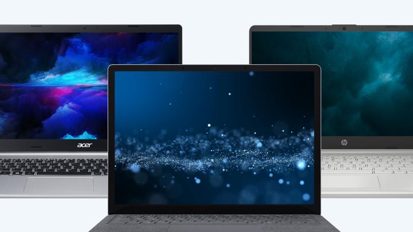 Acer, Surface en HP laptop.