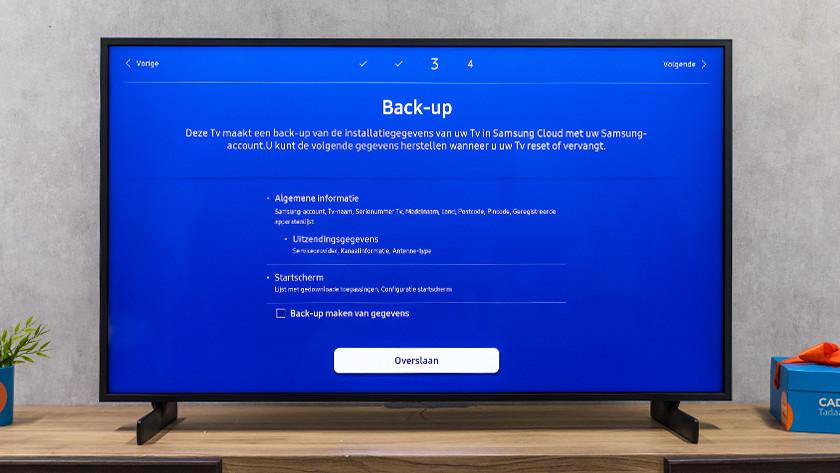 Samsung tv back-up