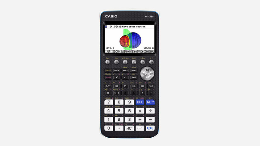 Calculator with color display