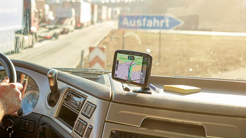Truck navigatiesysteem