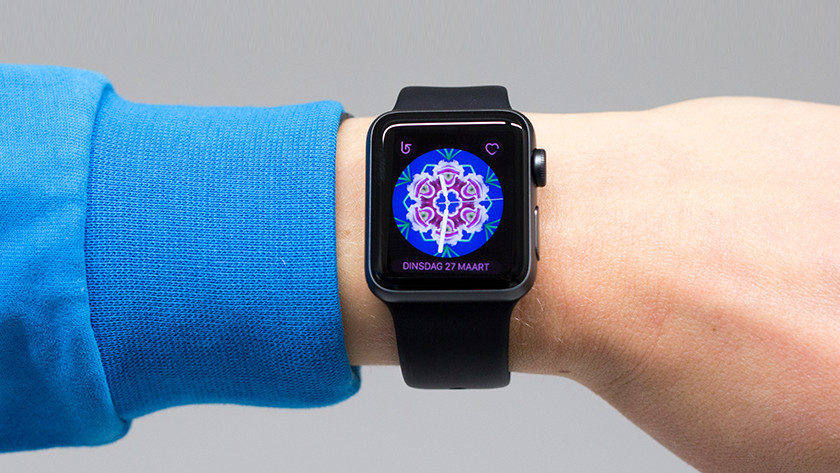 Changing the watch interface of the Apple Watch 3