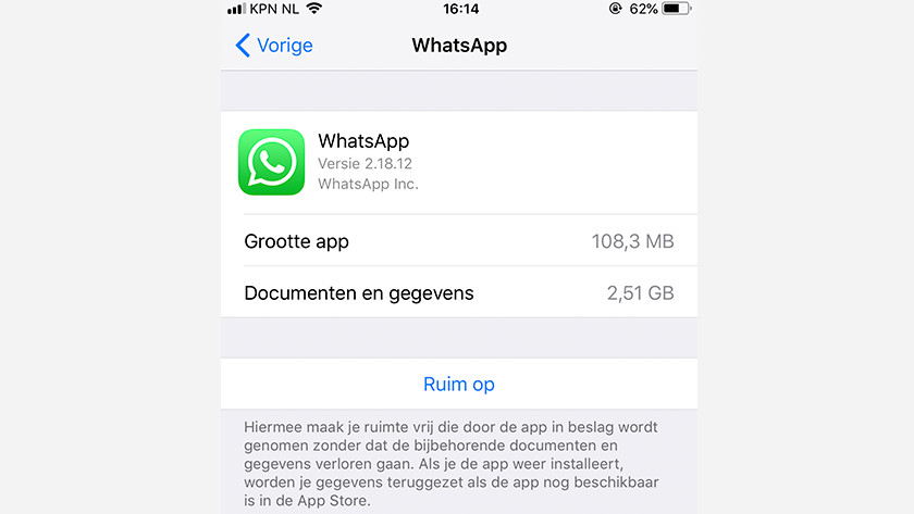 Whatsapp data
