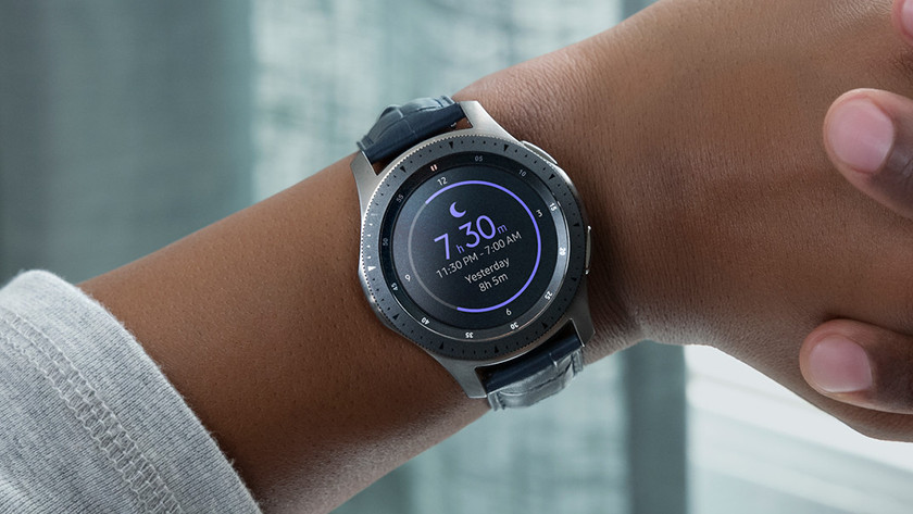 Samsung Galaxy Watch: heart rate monitor, measure sleep