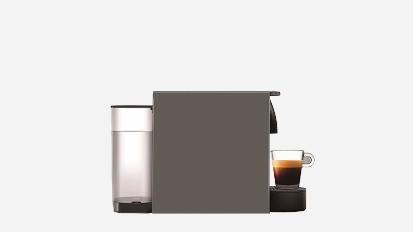Nespresso with a small water tank