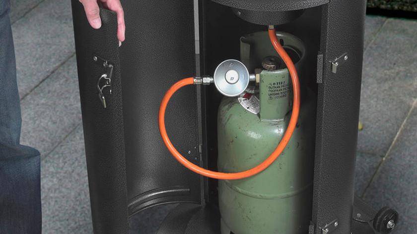 Gasdrukregelaar op gasfles