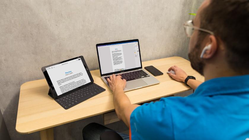 Samenwerking MacBook en iPad