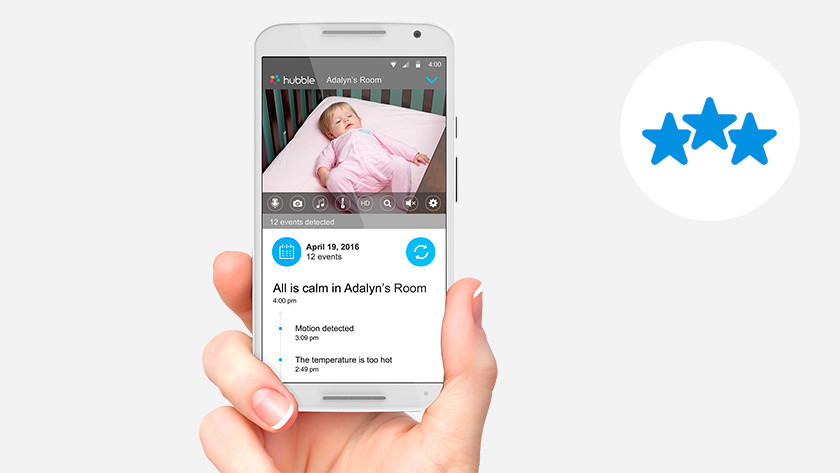 WiFi baby monitor with app