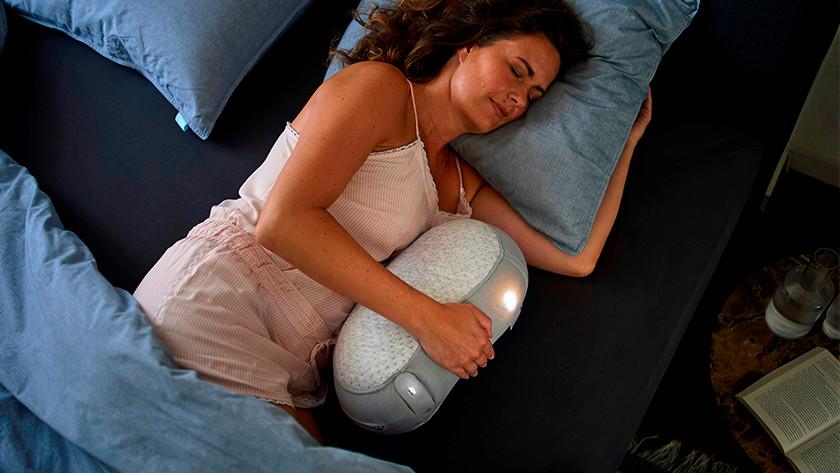 Slapen met Somnox Slaaprobot