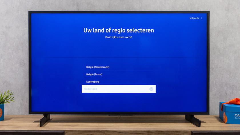 Samsung tv land of regio kiezen
