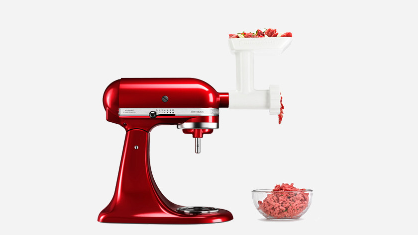 KitchenAid with meat grinder