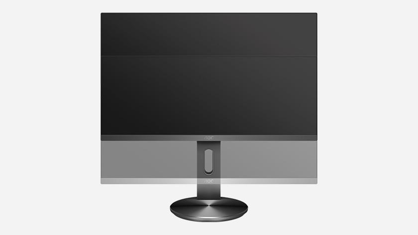 Monitor In hoogte verstelbaar