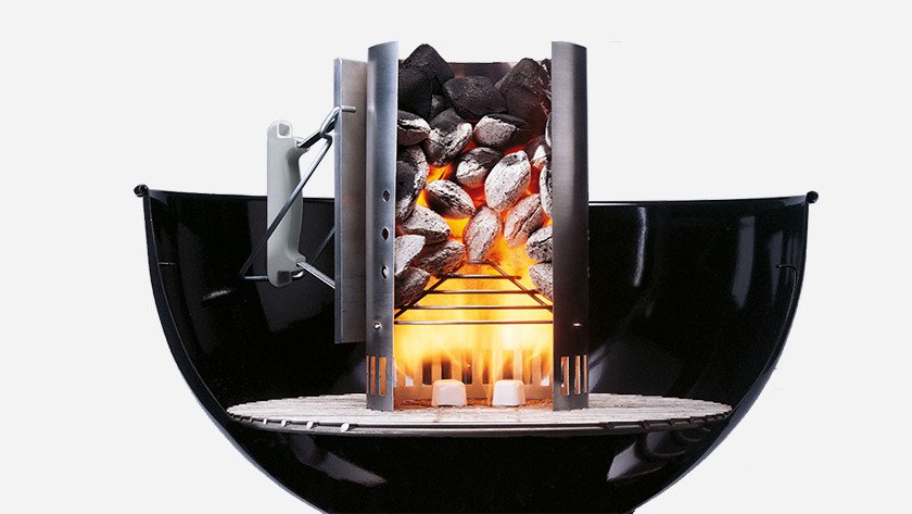 Houtskool bbq aansteken
